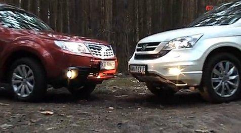 Honda CR-V vs. Subaru Fotester
