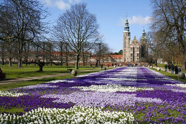 kopenhaga, dania, zamek rosenborg