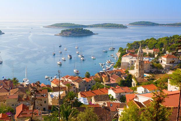 Chorwacja. Wyspa Hvar pełna słońca