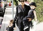 Nicole Richie na spacerze z dziećmi