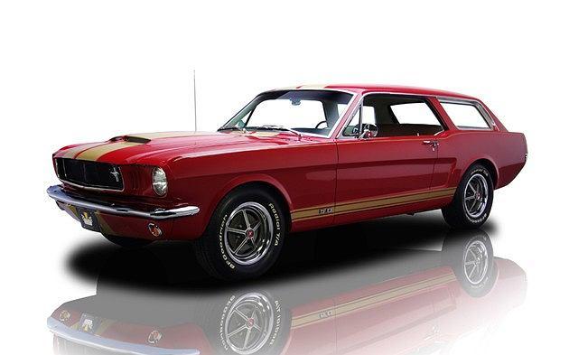1965 Ford Mustang Custom Wagon