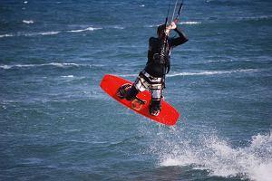 Kitesurfing zago�ci w Rewie