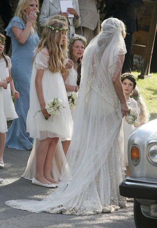 ślub Kate Moss Przebiła Middleton Zdjęcie Nr 13