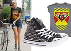 Agyness Deyn w t-shircie Amplified's Vintage Clash