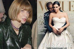 """Wintour t�umaczy si� z ok�adki """"Vogue'a"""" z Kim. Oburzeni internauci wycofuj� subskrypcje pisma i ju� tworz� memy!"""