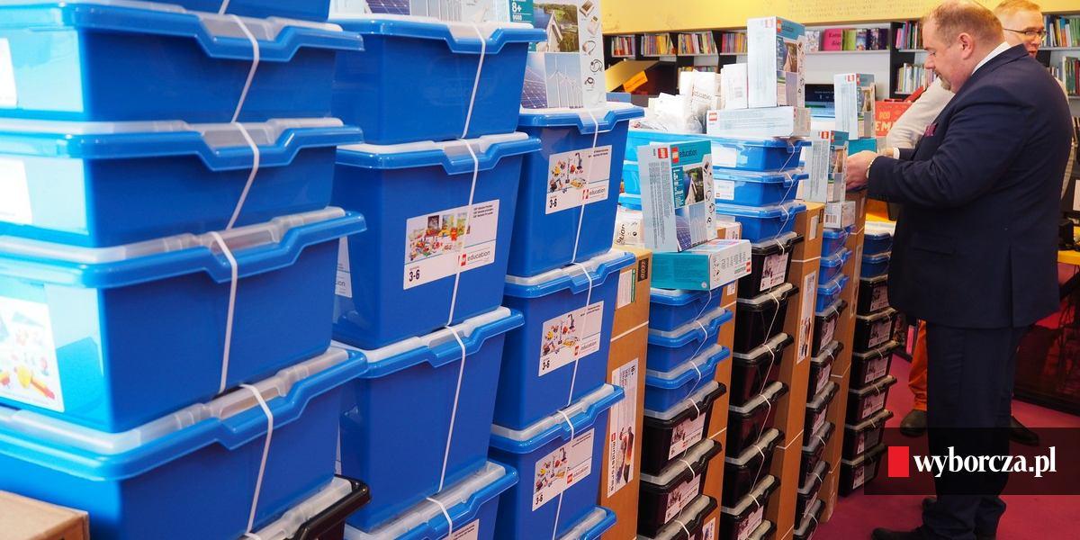 Kupili Klocki Dla Dzieci Za 150 Tys Zł W Podstawówkach Będą Uczyć