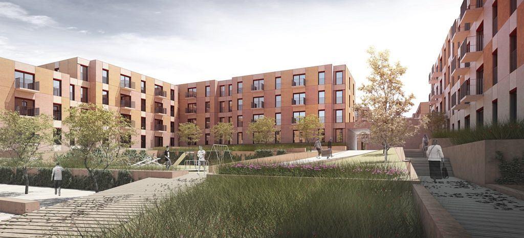 Koncepcja nowego osiedla w programie Mieszkanie+