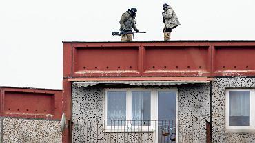 Akcja policji przy ul. Inflanckiej w Poznaniu