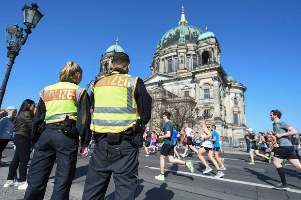 Niemiecka policja udaremniła zamach na uczestników półmaratonu w Berlinie