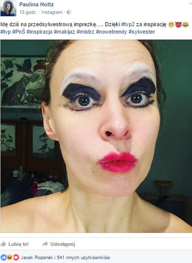 Makijaż Z Pnś Robi W Sieci Furorę Wy Już Spróbowałyście Tutorial