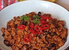 Chili con carne z czekoladą - ugotuj
