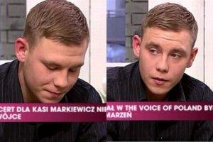 Syn zmar�ej Kasi Markiewicz: Mama przysz�a do programu po to, by ochroni� ludzi przed tym, co ja teraz prze�ywam