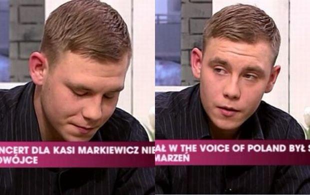 Konrad Czajkowski, syn Kasi Markiewicz