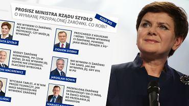 Co się stanie, kiedy poprosisz przyszłych ministrów o wymianę żarówki?