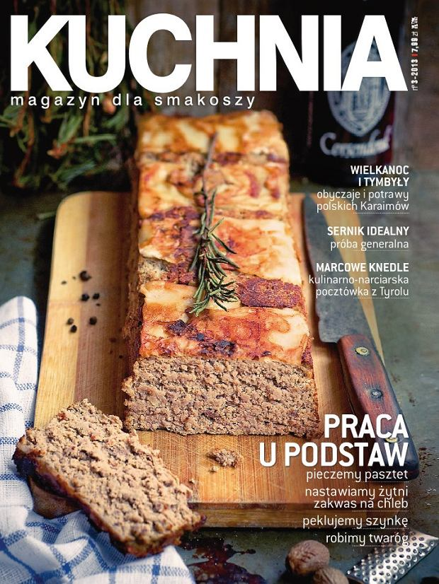Marcowy numer magazynu Kuchnia ju� w sprzeda�y!