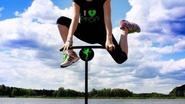 Jumping frog to trening, z którego skorzystają również biegacze