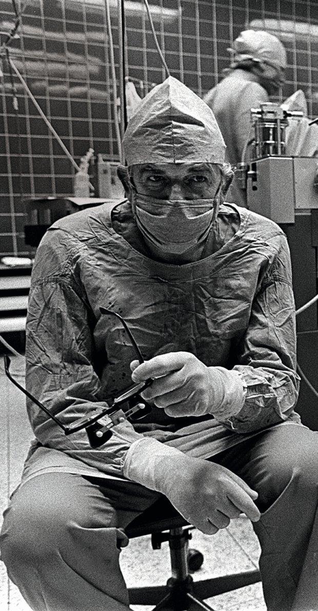 Profesor Zbigniew Religa (fot. Krzysztof Miller)