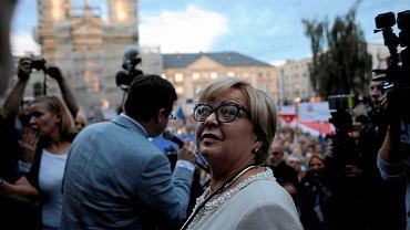 Malgorzata Gersdorf zapewnia, że do 2020 r. jest pierwszą prezes Sądu Najwyższego