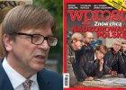 """Guy Verhofstadt o ok�adce """"Wprost"""": Skandaliczna, tak jak komentarze ministra Ziobry"""