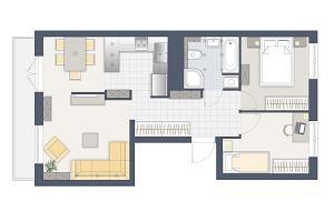 Kłopotliwy aneks kuchenny w 55-metrowym mieszkaniu