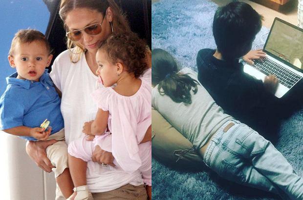 Dzieci Jennifer Lopez urosły. Jeszcze niedawno sławna mama nosiła je na rękach, teraz to urocze 9-latki.