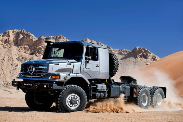 Mercedes Zetros 3643 AS 6x6 | Hardcorowy specjalista