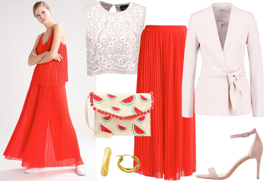 W spodniach na wesele - stylizacja