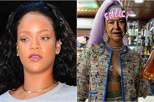 Rihanna i królowa Elżbieta jako Rihanna