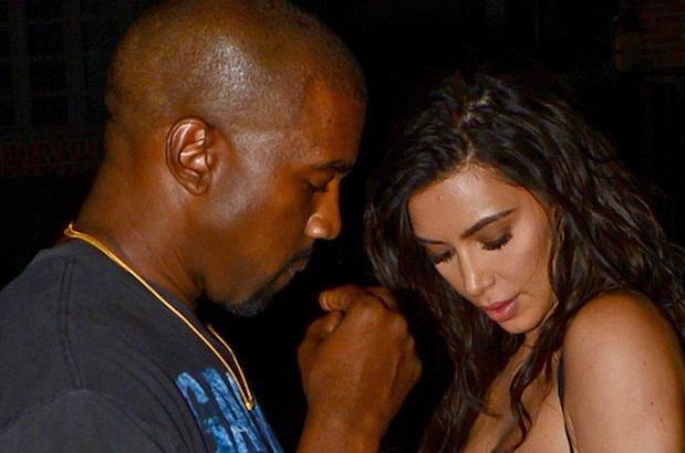 Kim Kardashian i Kanye West wybrali się na kolację na mieście. Celebrytka jak zwykle postawiła na odważną stylizację i tym razem ledwo uniknęła wpadki.