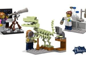 Rewolucja w Lego? Firma wypu�ci�a genderowe klocki z naukowczyniami