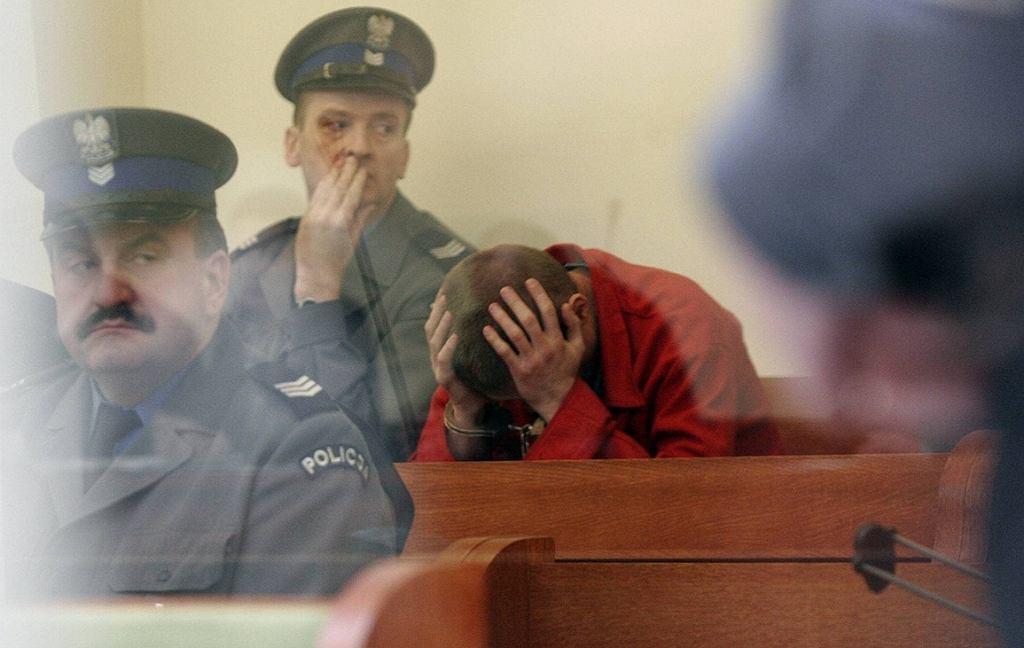Ogłoszenie wyroku ws. zabójstwa Krzysztofa Olewnika. Robert Pazik skazany na dożywocie (fot. Tomasz Niesłuchowski / Agencja Gazeta)