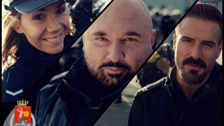 Patryk Vega i aktorzy 'Pitbulla' wystąpili w nowym spocie stołecznej policji