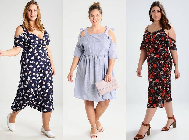 85eb01aa2d Lato w rozmiarze plus size - trzy stylizacje z sukienką cold ...