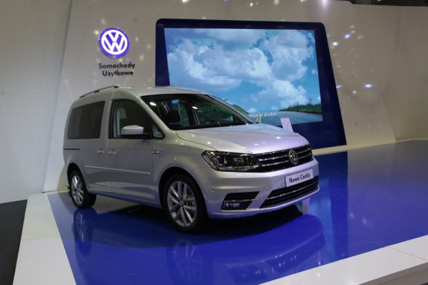 Motor Show Pozna� 2015 | Nowy Volkswagen Caddy | Premiera w domu