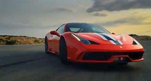 Zobacz nowe wideo Ferrari 458 Speciale