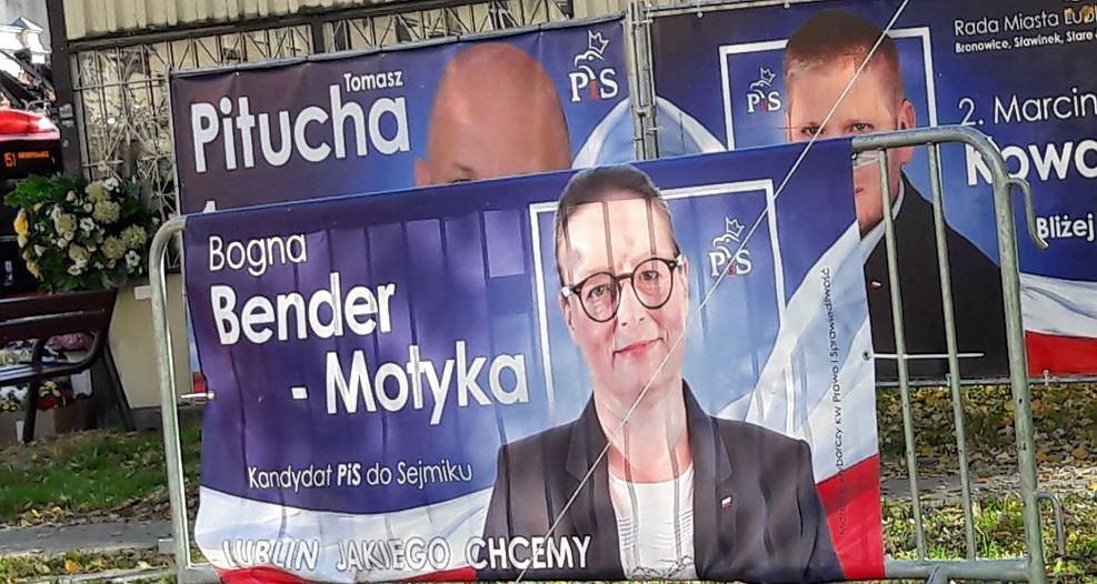 Dziennikarka TVP Lublin Bogna Bender-Motyka kandyduje z list PiS
