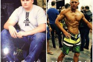 Metamorfoza Michała. Jeszcze 2 lata temu ważyłem 120 kg. Dziś jestem trenerem personalnym