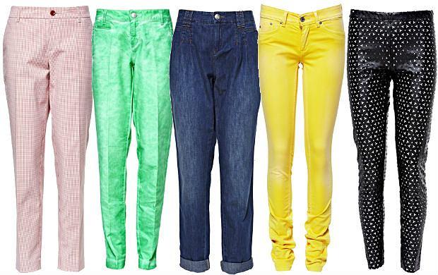 Kolorowe Spodnie W Atrakcyjnych Cenach Letnia Kolekcja Fashion House