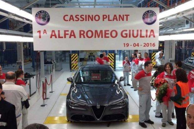 Pierwsza Alfa Romeo Giulia