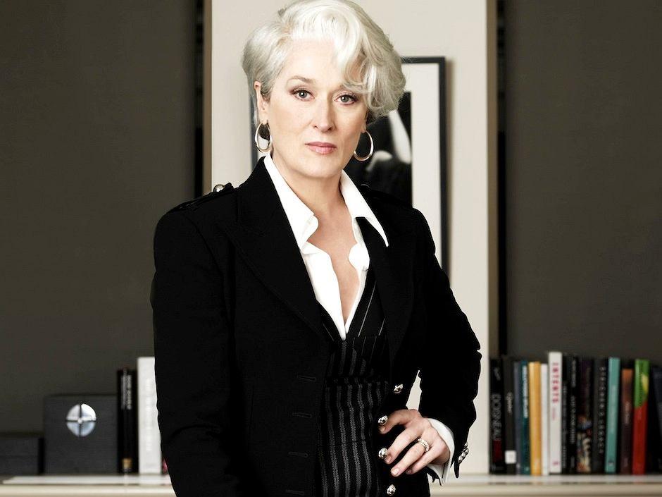 Meryl Streep w roli Mirandy Priestly/fot. mat. prasowe / Meryl Streep w roli Mirandy Priestly/fot. mat. prasowe