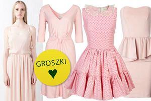 25 sukienek w kolorze pudrowego r�u