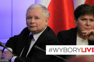 """Sonda� Ipsos dla """"Wiadomo�ci"""": PiS zdecydowanie przed PO. Sze�� partii w Sejmie"""