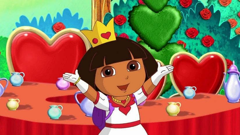 Dora poznaje swiat / NICKELODEON