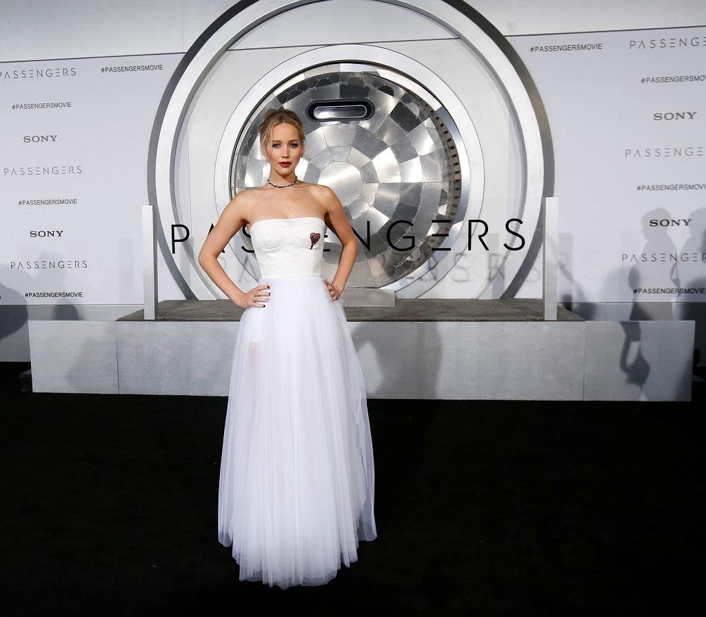 Jennifer Lawrence na premierze filmu 'Pasażerowie', 14.12.2016 / Mario Anzuoni / Reuters