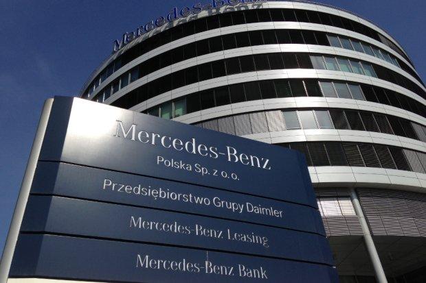Mercedes-Benz Polska najlepszym pracodawc�