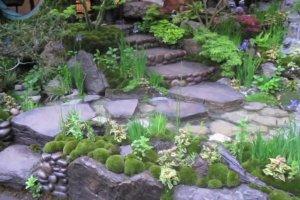 Woda w ogrodzie. Chelsea Flower Show