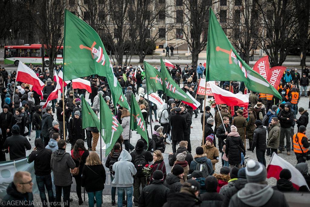 Manifestacja ONR. Prezydent Gdańska odpowiada