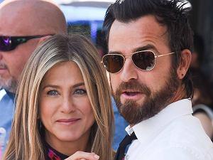 Jennifer Aniston z mężem