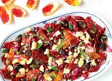 Sałatka z radicchio, pomarańczy i parmezanu - ugotuj
