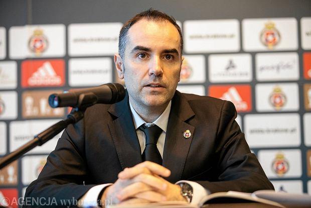 Manuel Junco, dyrektor sportowy Wisły